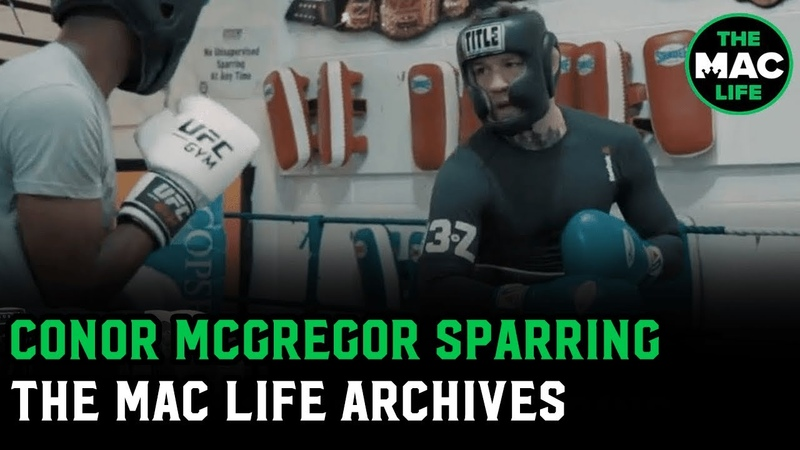 Conor McGregor Sparring Footage The Mac Life Vault