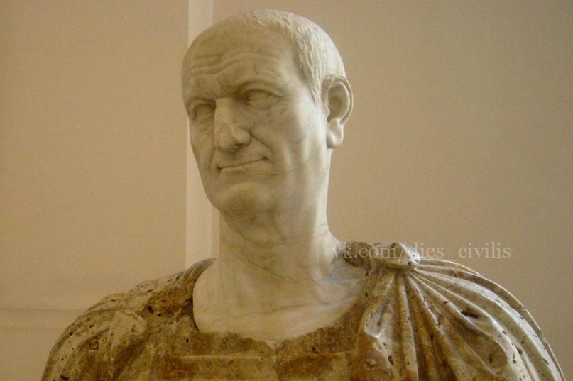 Император Веспасиан, в правление которого, скорее всего, родился Светоний.