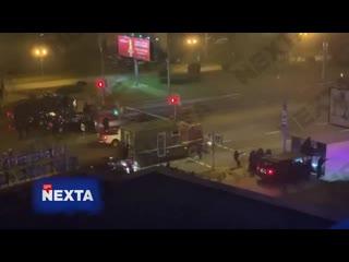 #necro_tv: Стрельба по митингующим в Минске (резиновые пули)