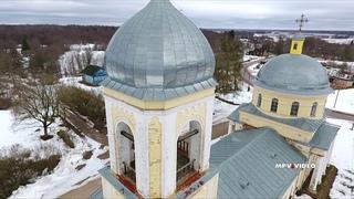 Вознесенская церковь в деревне Чёрное