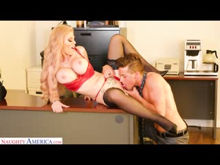 Casca Akashova with her big tits fucks a young stud in her office [2020 Big Tits, Anal, Deepthroat, Blowjob, Mature & Milf]