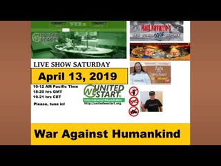 War Against Humankind - United We Start Roundtable Discussion April 13, 2019