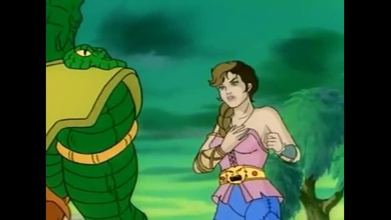 Конан искатель приключений Conan the Adventurer Земля в плену у людей змей часть 3 65 Серия