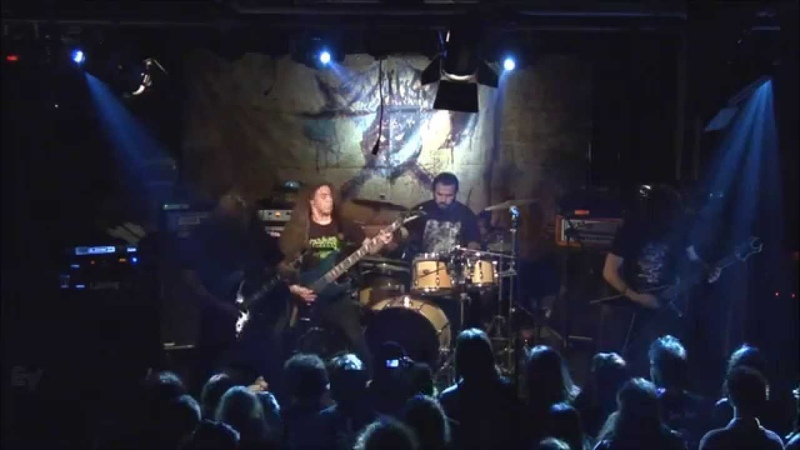 DEWFALL The Course to Malkuth Live at Tipografia Pescara It 2013 Epic Black Death Metal Italy
