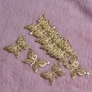 Бабочка филигрань обертывания разъемы 30шт золото металл ремесла 39x25mm для изготовления ювелирных изделий DIY аксессуары очарование кулон филигрань