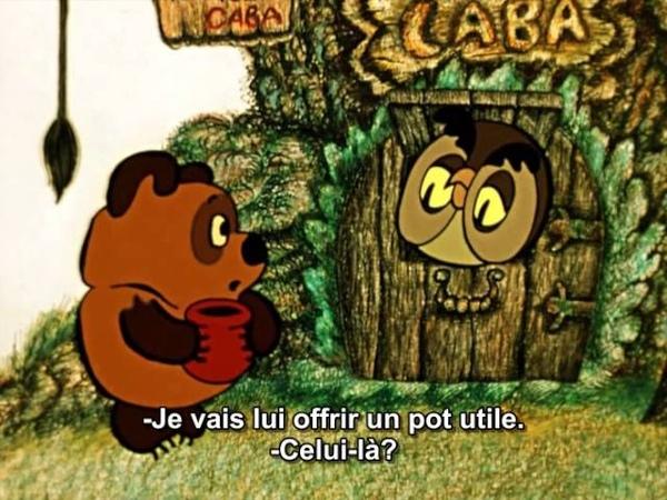 Winnie l'ourson russe et le jour des soucis sous titres français