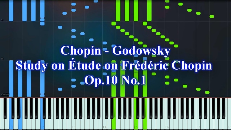 Chopin Godowsky Studies after Frederic Chopin Op 10 No 1 Synthesia