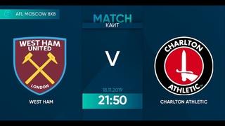 AFL19. England. Premier League. Day 14. West Ham - Chartlon Athletic.