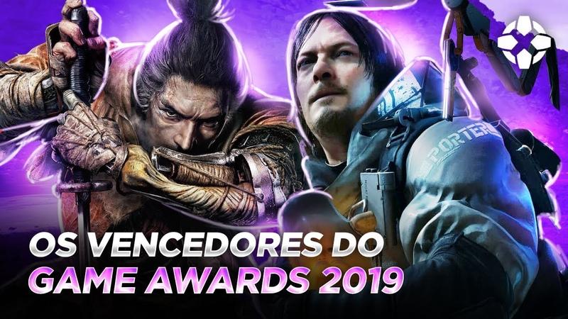 TODOS OS VENCEDORES DO GAME AWARDS 2019