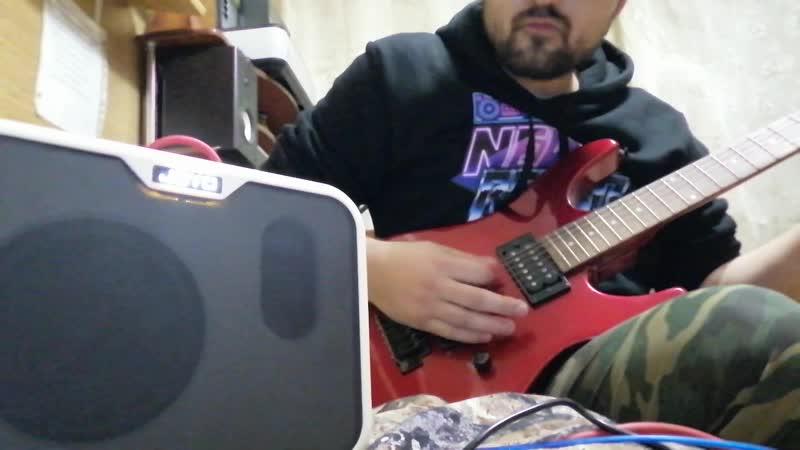 Joyo MA-10. Бас гитарный мини комбик. Испытание электрогитарой.