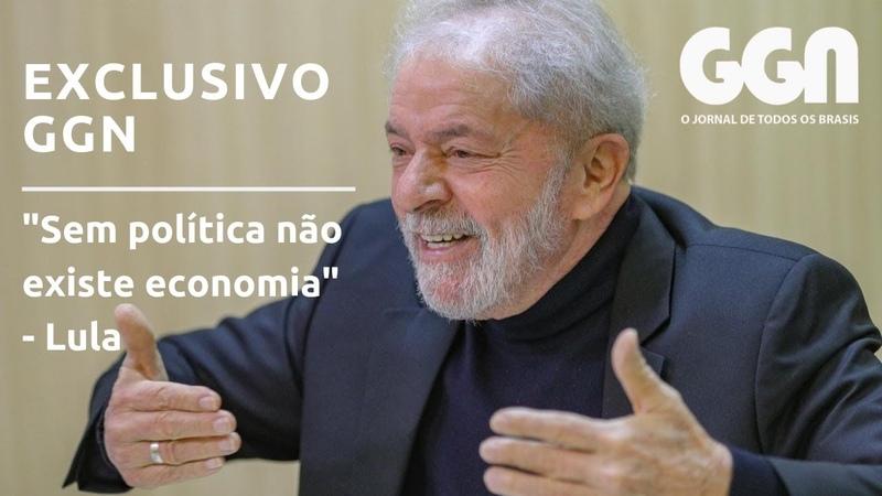 Sem política não existe economia, diz Lula em entrevista exclusiva ao GGN