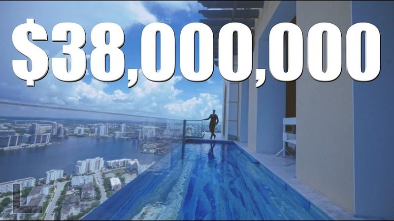 Touring a $38 Million Dollar | Miami Penthouse | Peter J Ancona- Vlog 001