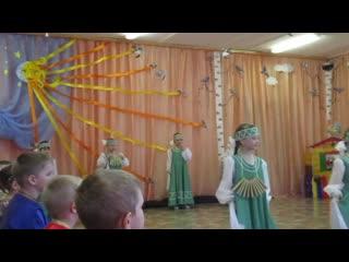 """Познавательно-музыкальное мероприятие """"Сороки"""" в детском саду № 351 г. Омска,"""