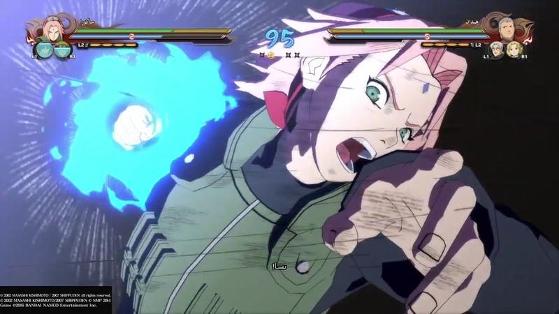 ناروتو شيبودن عاصفة النينجا النهائي 96 Naruto Shippuden Ultimate Ninj