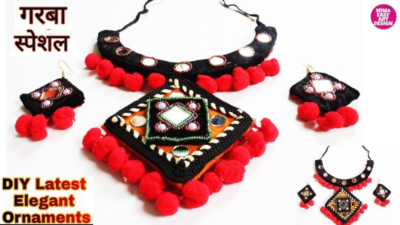 Wow Genius Navratri Necklace Making idea Best Navratri ornaments westmathibest jewellery