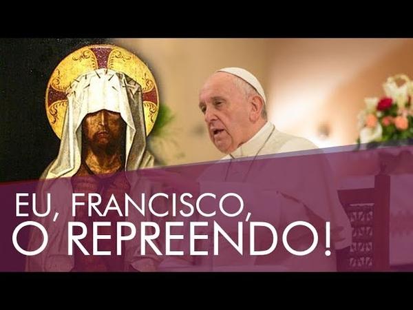 BERGOGLIO SE COLOCA ACIMA DE JESUS CRISTO