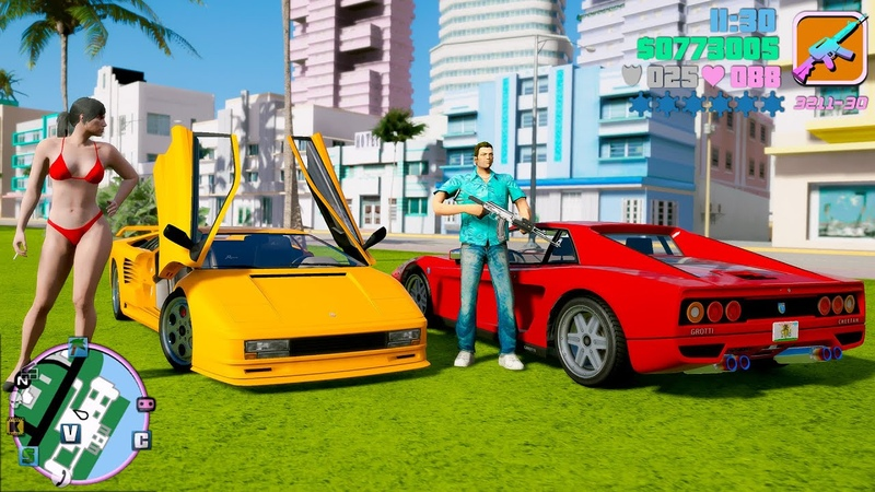 GTA 6 Graphics 🍍 Vice City Map Remastered - NVR PRSA Gameplay! RTX 2080 Ti i9-9980XE 4K 60FPS