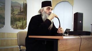 Беседа о.Илиодора в Белгородской духовной семинарии