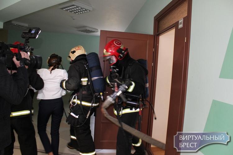 На территории Брестской области зарегистрировано 3 пожара. Эвакуировано 53 человека