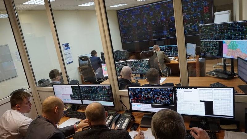 Тренировка диспетчеров энергосистем Беларуси и Украины