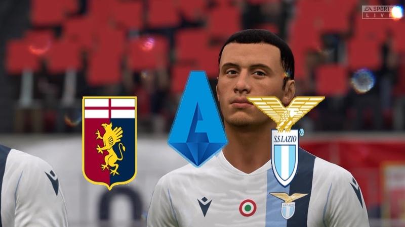 FIFA 20 | Italy Serie A,Genoa VS Lazio @Stadio Luigi Ferraris | Round 25