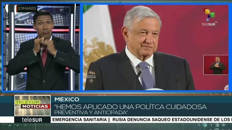 México gobierno garantiza recursos para enfrentar pandemia el COVID19