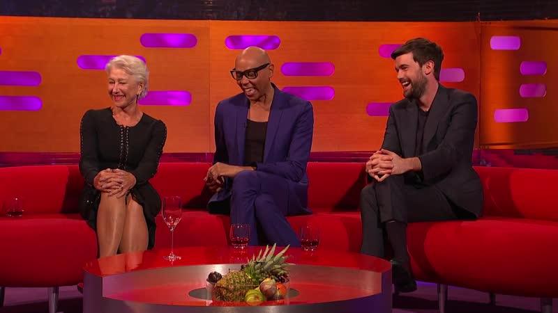 The Graham Norton Show 26x01 - RuPaul Charles, Dame Helen Mirren, Simon Reeve, Jack Whitehall, Alphabeat