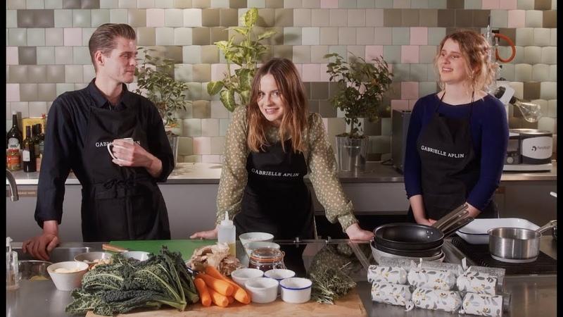 A Christmas Vegan Roast with Gabrielle Aplin, Hannah Grace and Alfie Hudson-Taylor FoodWithFriends