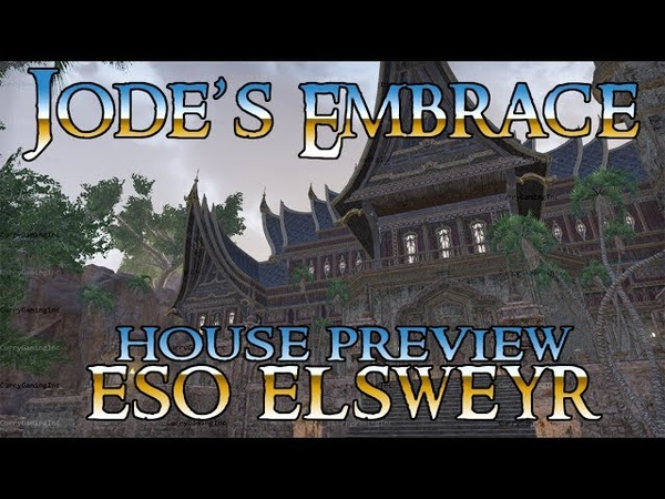 ESO Jode's Embrace House Preview Elsweyr