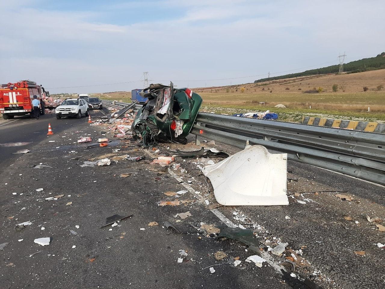 В Крыму на трассе «Таврида» за два дня произошли две смертельные аварии
