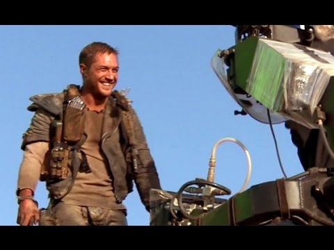 Mad Max Fury Road B ROLL 2015 Tom Hardy Charlize Theron Action Movie HD