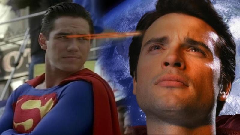 Лучдшие сериалы про Супермена Тайны Смолвиля Лоис и Кларк Новые приключения Супермена