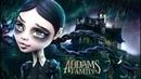 Doll Figurine Repaint WEDNESDAY ADDAMS The Addams Family Halloween Monster High Ooak Repaint