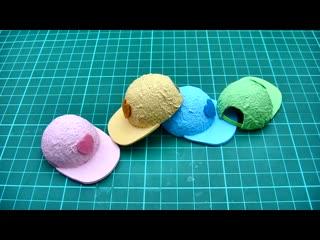 DIY Miniature Craft - Mini Baseball Cap Hat