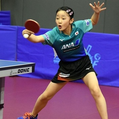 ITTF World on Instagram:  Wow!!!  Check out Miwa Harimoto!  Yes, that's the younger sister of Tomokazu! #TableTennis definitely runs in the family