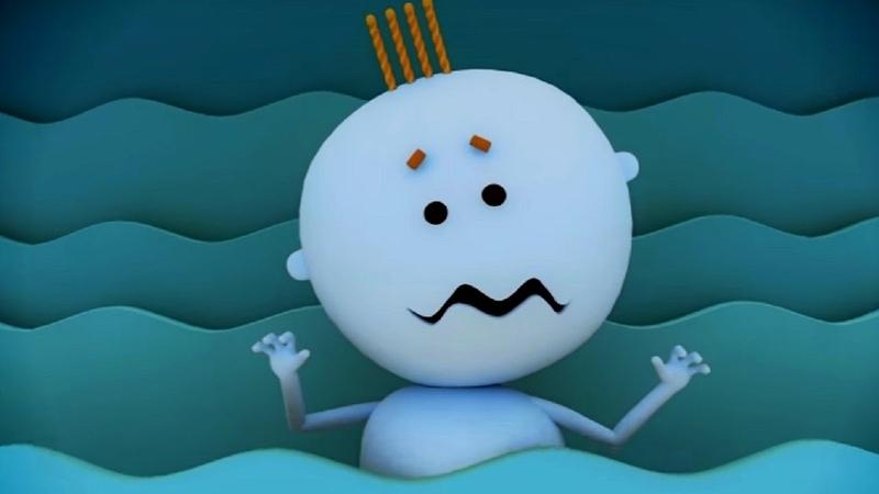 Аркадий Паровозов спешит на помощь Почему опасно долго находиться в воде мультфильм