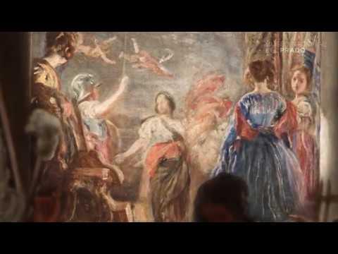 Obra comentada Las hilanderas o la fábula de Aracne Diego Velázquez