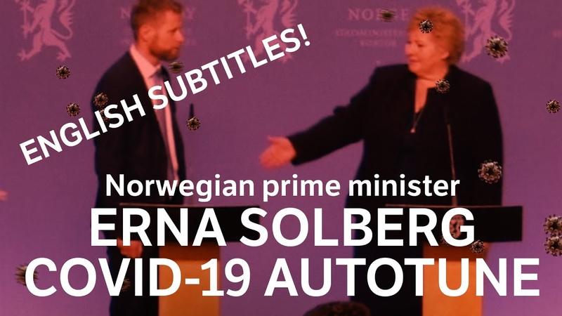 Erna Solberg - Ooops! [English subtitles] COVID-19 AUTOTUNE REMIX