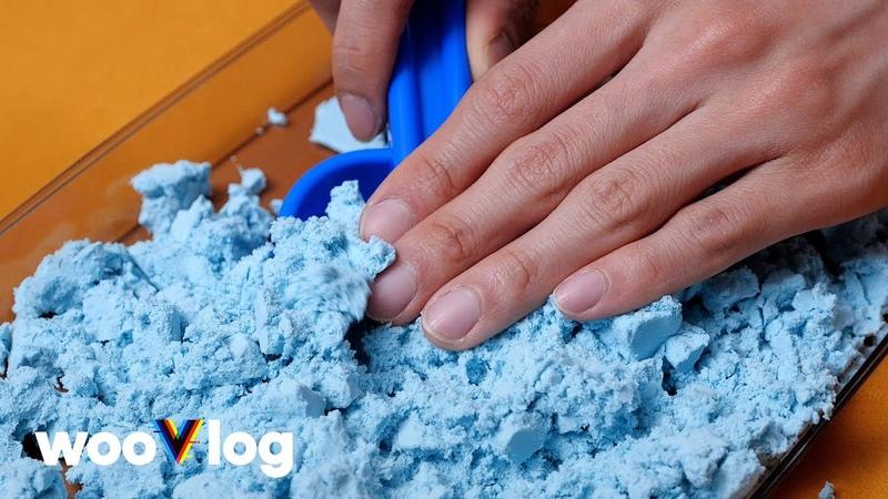 210507 ㅡ WOOJIN's sand ASMR that will make you feel better 🎙 wooVlog wV35
