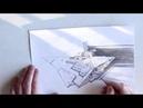 Как проводить прямую линию без линейки How To Draw A Straight Line Without a Ruler