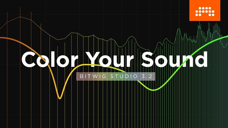 Color Your Sound – EQ, Saturator and more in Bitwig Studio 3.2