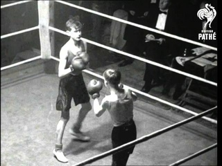 Stable Lads Battle For Ring Honours (1950)
