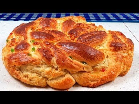 Великденски козунак на конци Cozonac traditional pas cu pas τσουρέκι çörek Brioche Golden Bakery