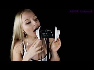 WET EAR LICKING AND EAR EATING ASMR   Asmr 18+