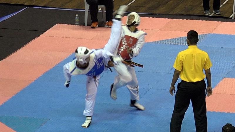 Chee Xueyi Kyorugi - Malaysia Taekwondo Open 2016