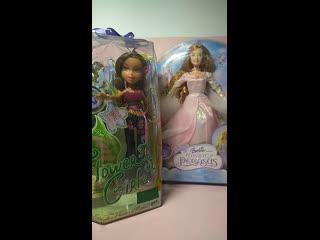 """Распаковка Бриетты """"Барби и волшебство Пегаса"""" 2005 и Ясмин """"Flower Girlz"""" 2007"""