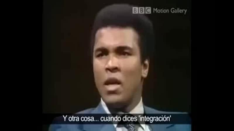 Muhammad Ali le dice sus verdades a promotor del