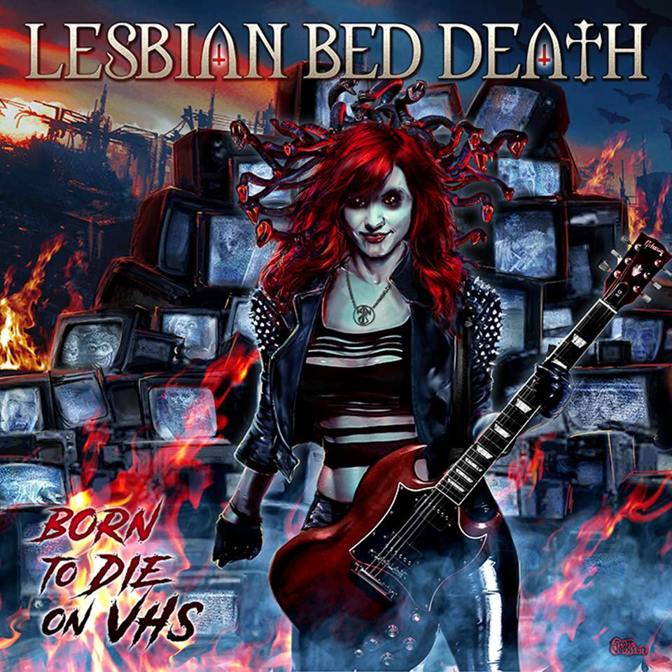 Lesbian Bed Death - Born To Die on VHS