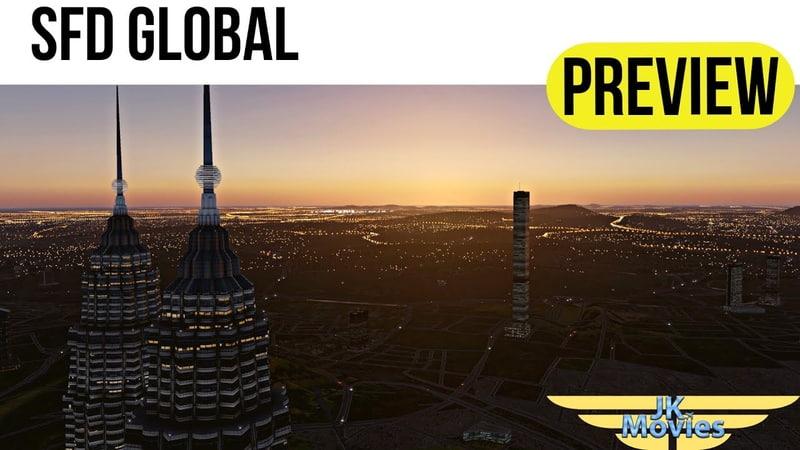XPlane 11 SFD Global RC Preview Vorstellung und Testflug