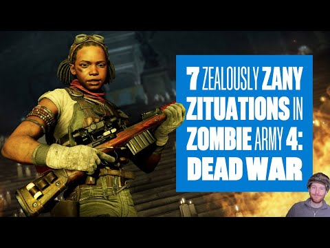 New Zombie Army 4 Dead War Gameplay 7 ZEALOUSLY ZANY ZITUATIONS
